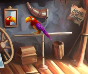 Boutique parrot