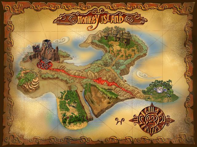 The World Of Monkey Island