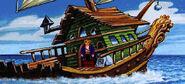 Captain dread's ship