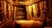 LeChuck's Fortress - Office Entrance