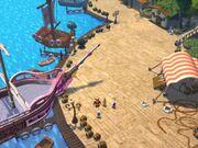 Lucre Island dock