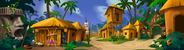Monkey Island - Cannibals' Village