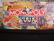 200X Future Las Vegas Edition Monopoly Front of Box