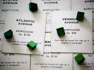 Monopoly mortgages