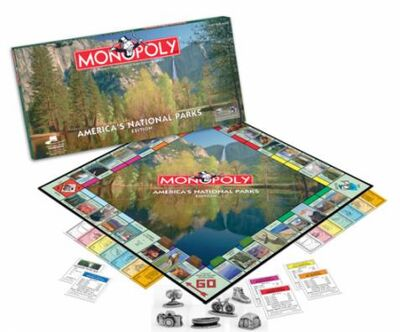 Monopoly Americas National Parks Edition