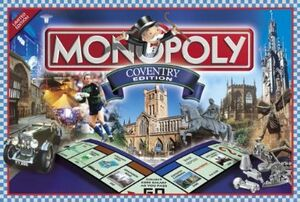 Coventry Monopoly Cover