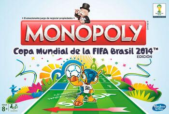 Monopoly FIFA 2014 Brazil-Spanish