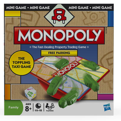Monopoly Free Parking Mini-Game