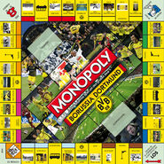 MONOPOLY BVB-2010 Gameboard