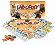 Lab-opoly board