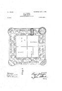 1904 Landlord's Game Patent US748626-0 Page 1