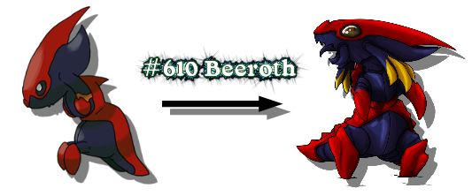 New Monster Redrawn Beeroth