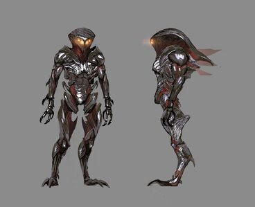 Mass Effect 2 character concept art Collector