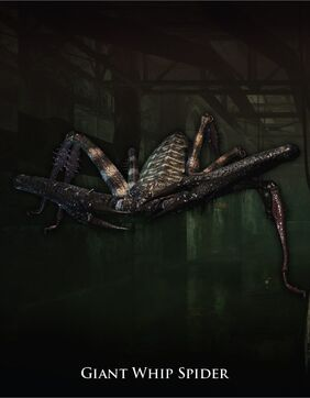 Giant whip spider