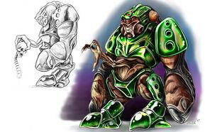 Alien grunt 3