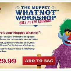 A muppet whatnot monster in FAO.