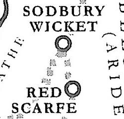 Sodbury Wicket & Red Scarfe