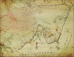 Map HALF-CONTINENT Full