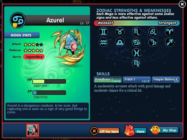 Profile page azurel