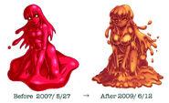 Red Slime Change