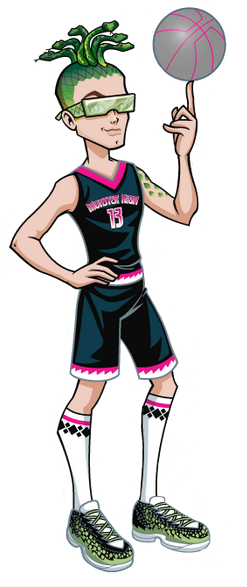 Image profile art scream uniform deuce png monster high wiki fandom powered by wikia - Monster high deuce ...
