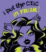 Facebook - I put the chic in freak