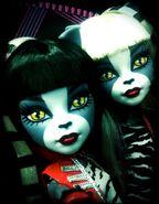 Diorama - werecat sisters