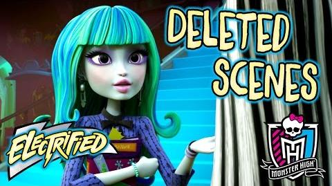 Deleted Scenes Storm Aftermath Electrified Monster High