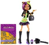 Doll stockphotography - New Scaremester Clawdeen