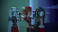 Road to Monster Mashionals - werecat cheer