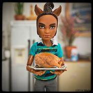 Diorama - Clawd's turkey