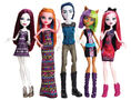 Doll stockphotography - Maul Monsteristas 5-pack