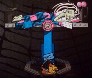 Box art - sleeping Frankie Watzit