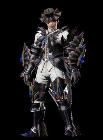 File:MHO-Akura Armor (Gunner) (Male) Render 001.png