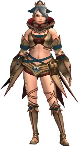 File:FrontierGen-Gania Armor (Female) (Both) (Front) Render 003.png