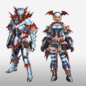 FrontierGen-Sutoroma Armor (Blademaster) (Front) Render