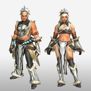 FrontierGen-Burittsu Armor (Both) (Front) Render