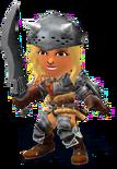 SSB4-Hunter's Armor (Female) Render 001