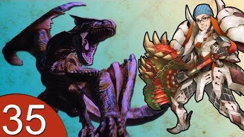 Monster Hunter 4 Nubcakes 35 - FERAL Tigrex English commentary online gameplay