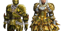 Golden Moon Z Armor (Blade)