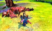 MHST-Pink Rathian and Gypceros Screenshot 001