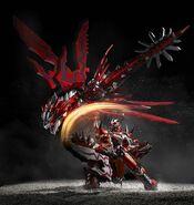Chogokin-Monster Hunter G Class Henkei Rathalos 010