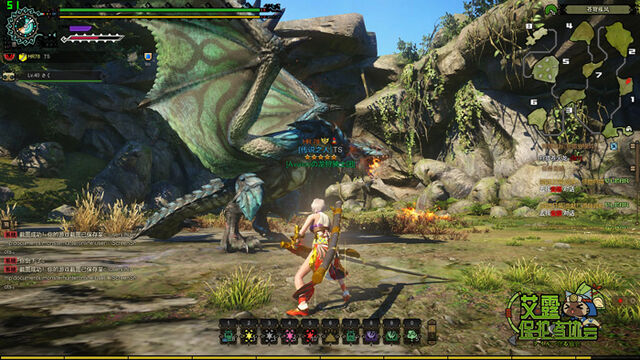 File:MHO-Azure Rathalos Screenshot 019.jpg
