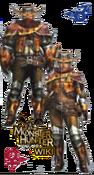 MH3U Wroggi Armor Blade