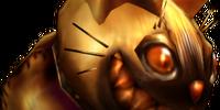 Gold Cat Hammer