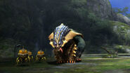 MH3U-Arzuros and Altaroth Screenshot 001