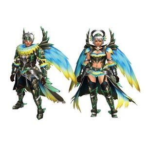 FrontierGen-Hevuria Armor (Both) Render