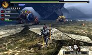 MH4U-Zinogre and Furious Rajang Screenshot 001