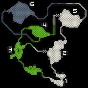 FrontierGen-Painted Waterfalls Map
