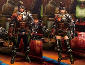 MH4U-Hunter's Armor (Gunner) Render 001